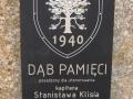 Tablica-przed szkołą w Głowaczowej