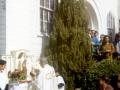 Ks.Antoni Saran-dokonuje koronacji Statuy Qur Lady of Mt.Carmel w Long Beach,California,USA-maj 1971r