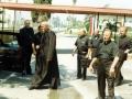 Kalifornia-USA-lata 70-te XX w-kardynał Wojtyła,z tyłu;ks.Stanisław Dziwisz,ks.Antoni Saran -3-
